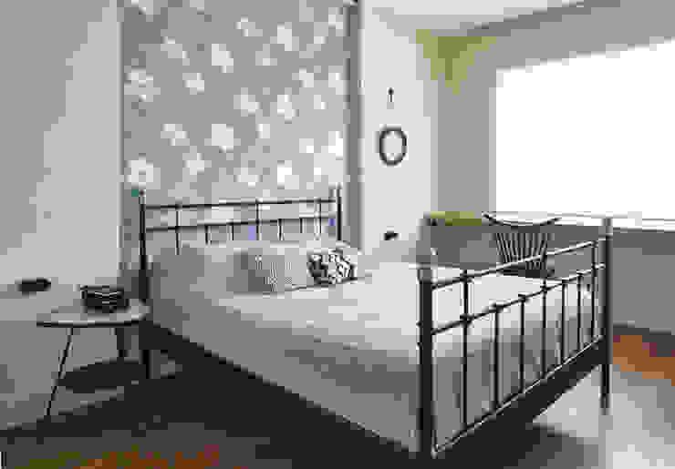 Ивантеевка Спальня в стиле лофт от арХбабы Лофт