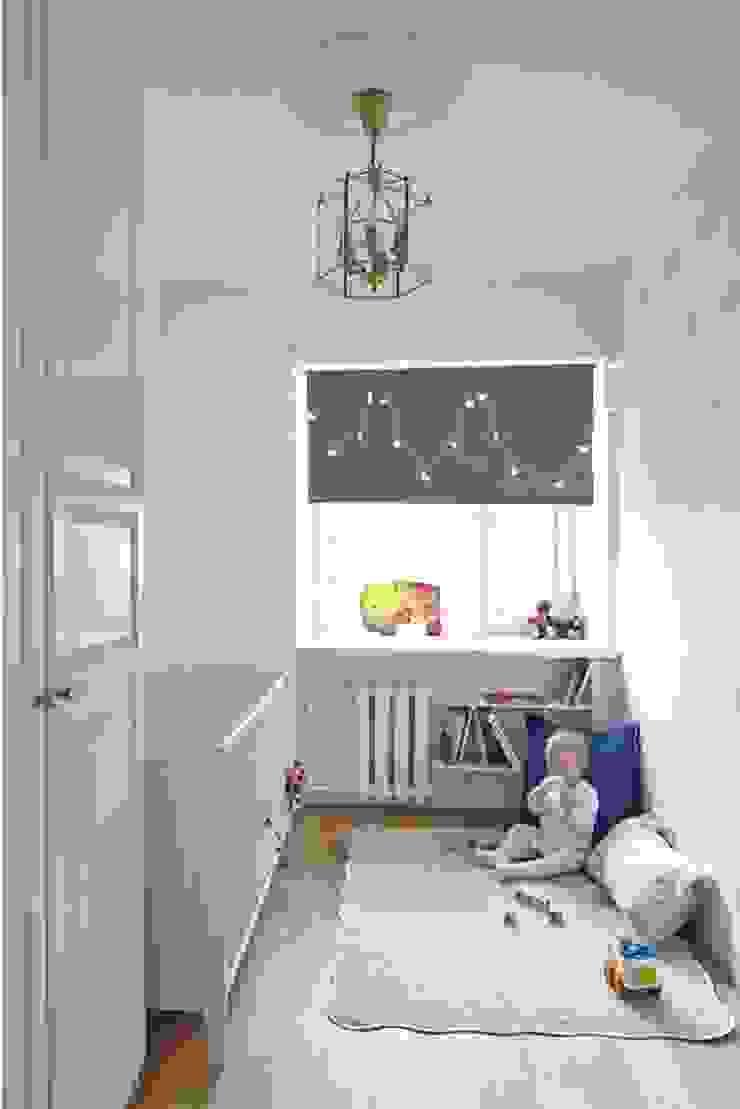 квартира в центре Москвы Детская комнатa в скандинавском стиле от арХбабы Скандинавский