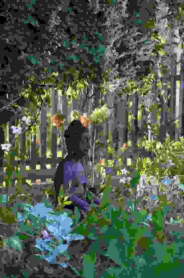 Ogród rustykalny od Projekt M Rustykalny