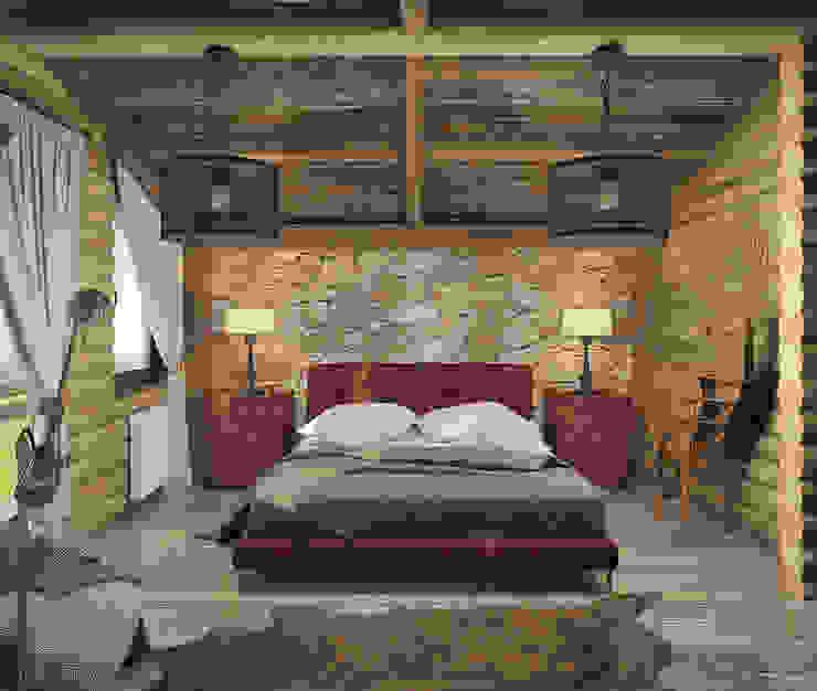 Шале Спальня в средиземноморском стиле от room4life Средиземноморский