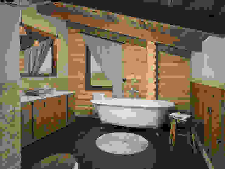 Шале Ванная в средиземноморском стиле от room4life Средиземноморский