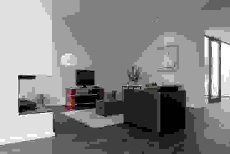 Nowoczesny salon od Corneille Uedingslohmann Architekten Nowoczesny
