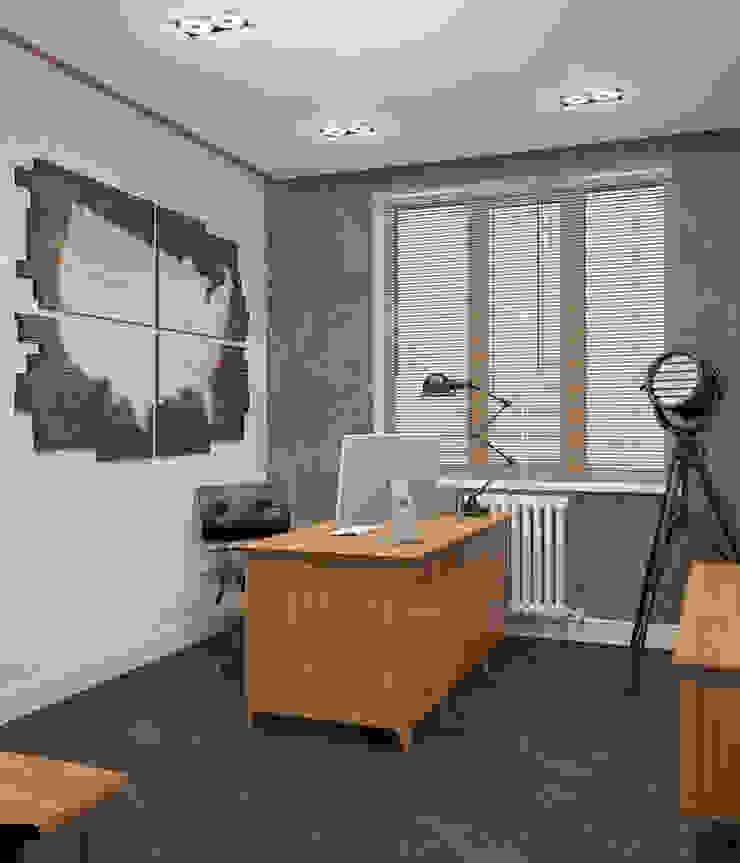 Неоклассика Рабочий кабинет в классическом стиле от room4life Классический