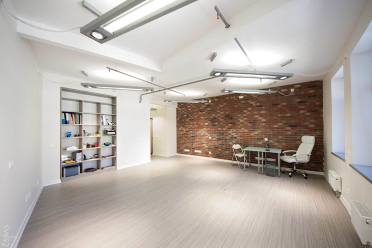 Офис Офисные помещения в стиле модерн от ESPAS Модерн
