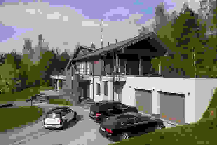 экстерьер дома в Токсово Дома в скандинавском стиле от de.studio Скандинавский