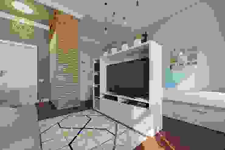 Living room by homify, Scandinavian