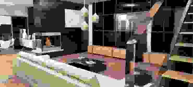 Modern living room by Artenova Design Modern