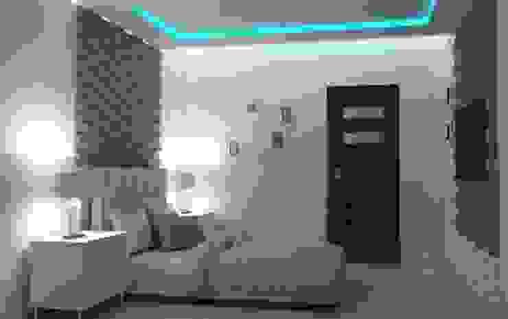 Projekt domu Nowoczesna sypialnia od Artenova Design Nowoczesny