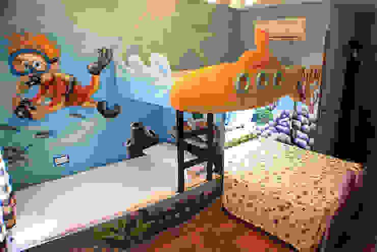 Habitación temática del fondo del mar de Art4kids Mediterráneo