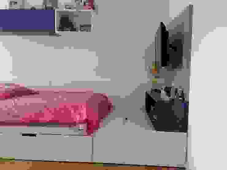 Mueble Tv Dormitorios infantiles minimalistas de homify Minimalista