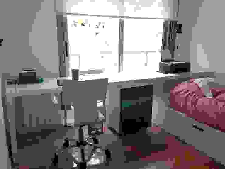 Escritorio Dormitorios infantiles minimalistas de homify Minimalista