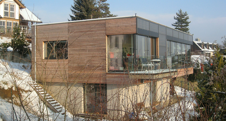 Modern terrace by Architekturbüro Reinberg ZT GmbH Modern