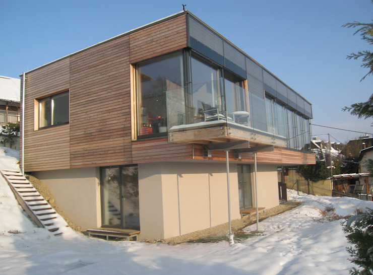 Modern houses by Architekturbüro Reinberg ZT GmbH Modern