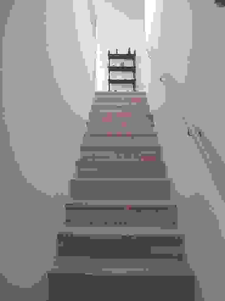 Architekturbüro Reinberg ZT GmbH Modern corridor, hallway & stairs