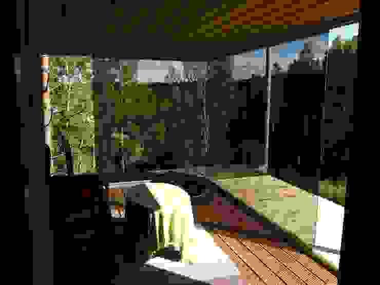 Wintergarten Architekturbüro Reinberg ZT GmbH Moderner Balkon, Veranda & Terrasse