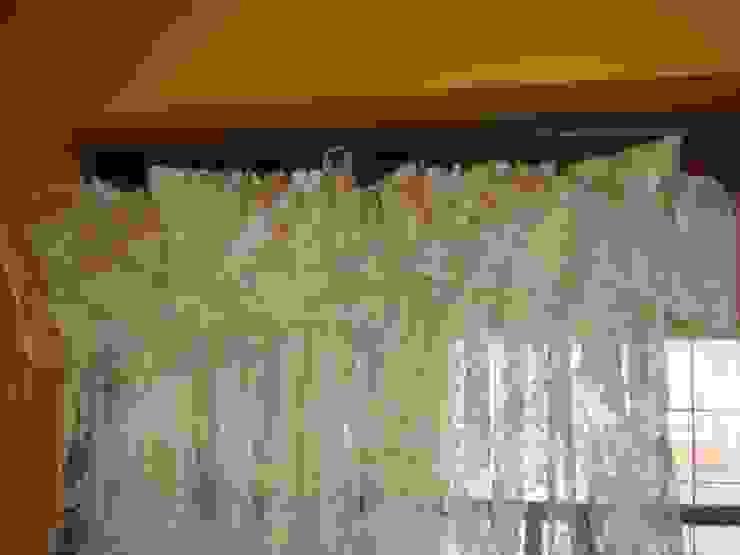 1枚の布から機能性かつ装飾性のあるファションカーテンに!: 株式会社リザ・ボーテが手掛けた折衷的なです。,オリジナル
