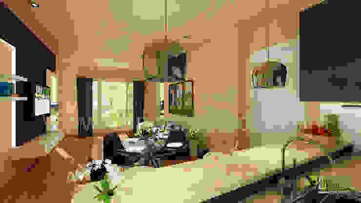 3D Living Room Interior Design Rendering: modern  by Architectural Design Studio,Modern