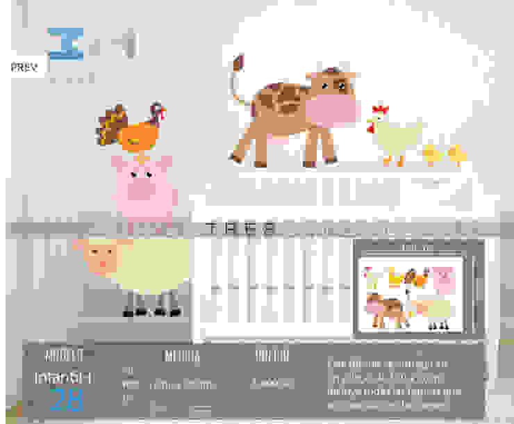 Vinilo314 Chambre d'enfant moderne Plastique Multicolore