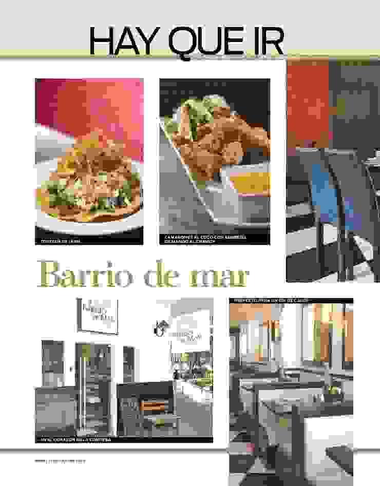 CARTELES, REVISTAS, PUBLICIDAD Gastronomía de estilo moderno de Karell Studio Moderno