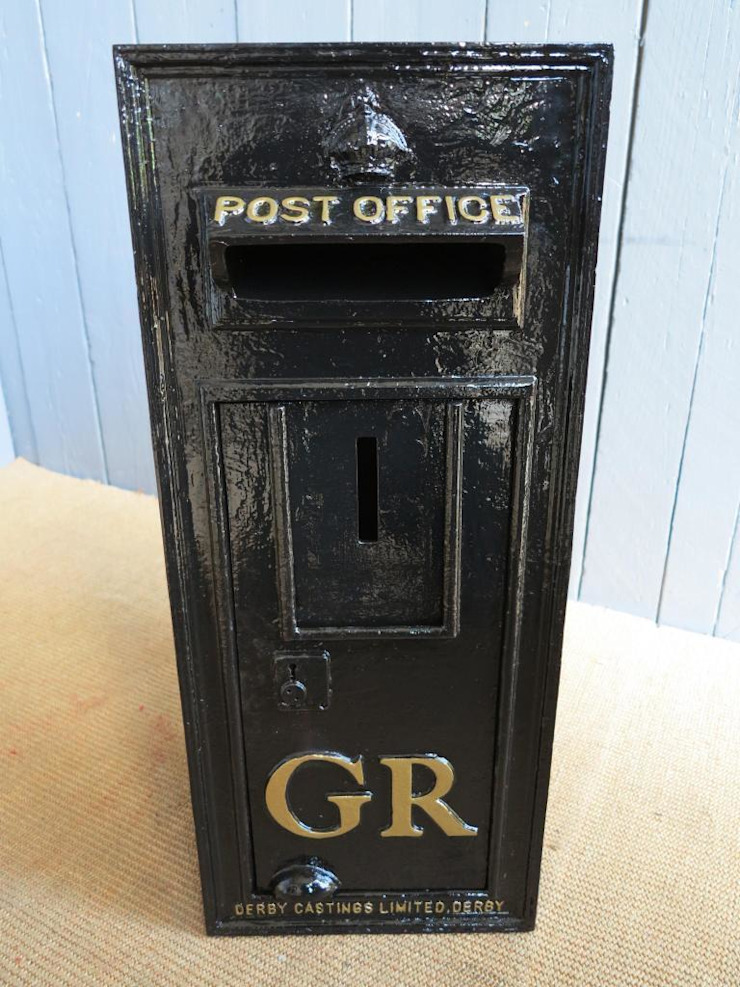 Metal Stand for Royal Mail Post Box ER GR Floor Mounting