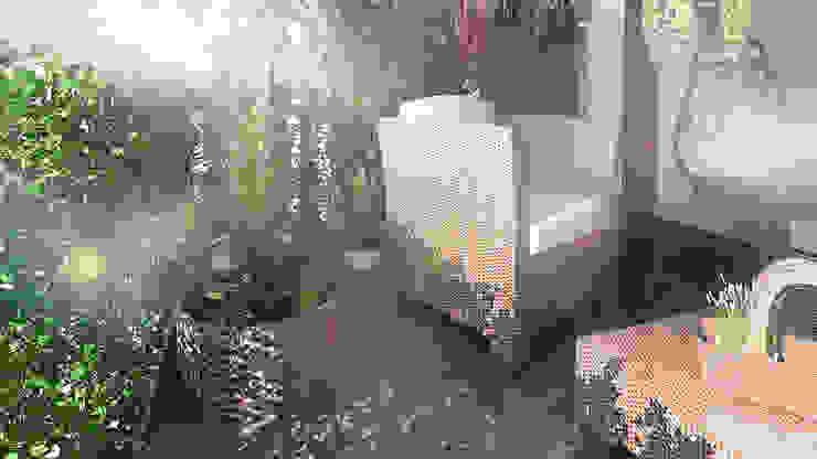 Rewolucja na balkonie : styl , w kategorii  zaprojektowany przez D2 Studio,Nowoczesny