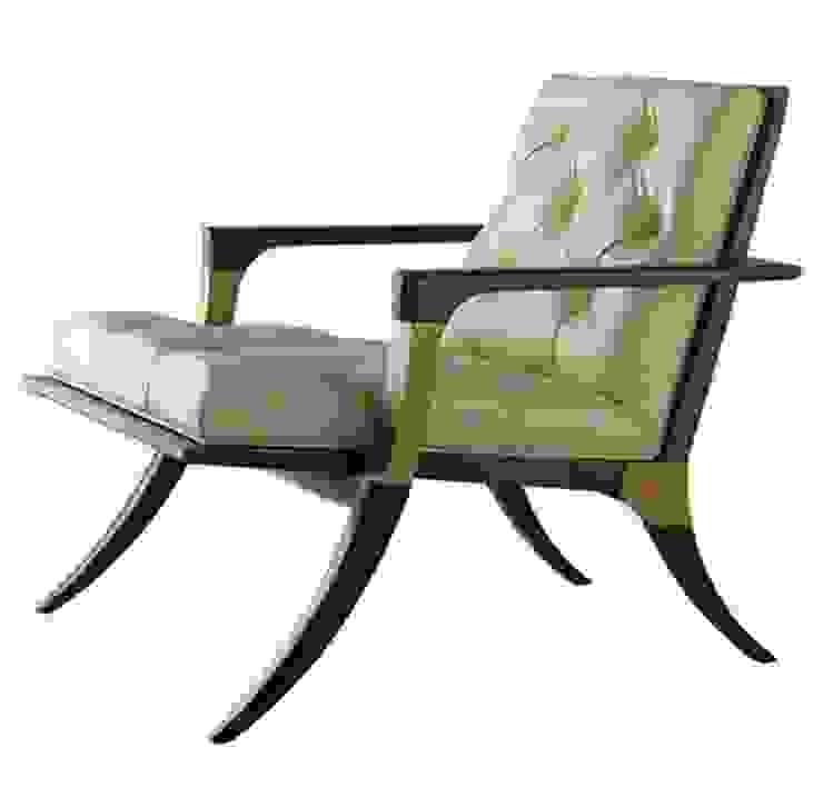 Кресло BAKER, THOMAS PHEASANT:  в современный. Автор – NICE CATCH , Модерн