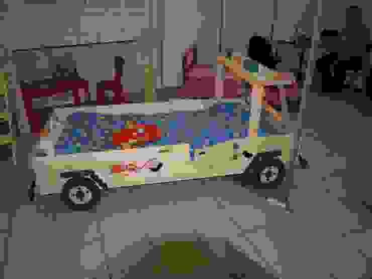 Super unikatowe łóżeczko drewniane – STRAŻ POŻARNA od Eko Bracia Klasyczny