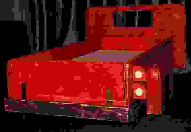 Super unikatowe łóżeczko drewniane - STARY PICKUP od Eko Bracia Klasyczny