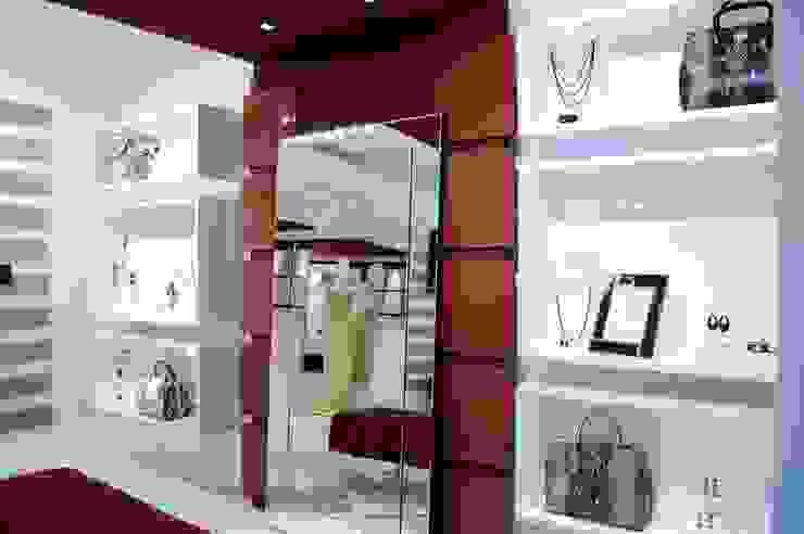 JOALHERIA DESIGN - CASA COR SP 2015 - BRASIL - Efeitos Especiais Lojas & Imóveis comerciais modernos por Adriana Scartaris: Design e Interiores em São Paulo Moderno