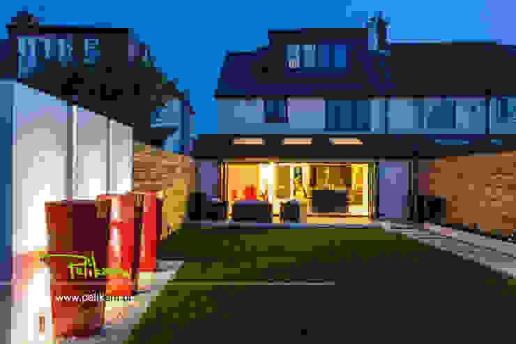 Dom w londynie Nowoczesny ogród od PELIKAM Nowoczesny