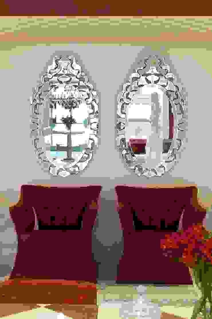 JOALHERIA DESIGN - CASA COR SP 2015 - BRASIL - Espelhos Venezianos Lojas & Imóveis comerciais modernos por Adriana Scartaris: Design e Interiores em São Paulo Moderno