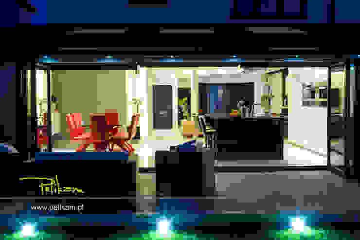 Dom w londynie Nowoczesne domy od PELIKAM Nowoczesny