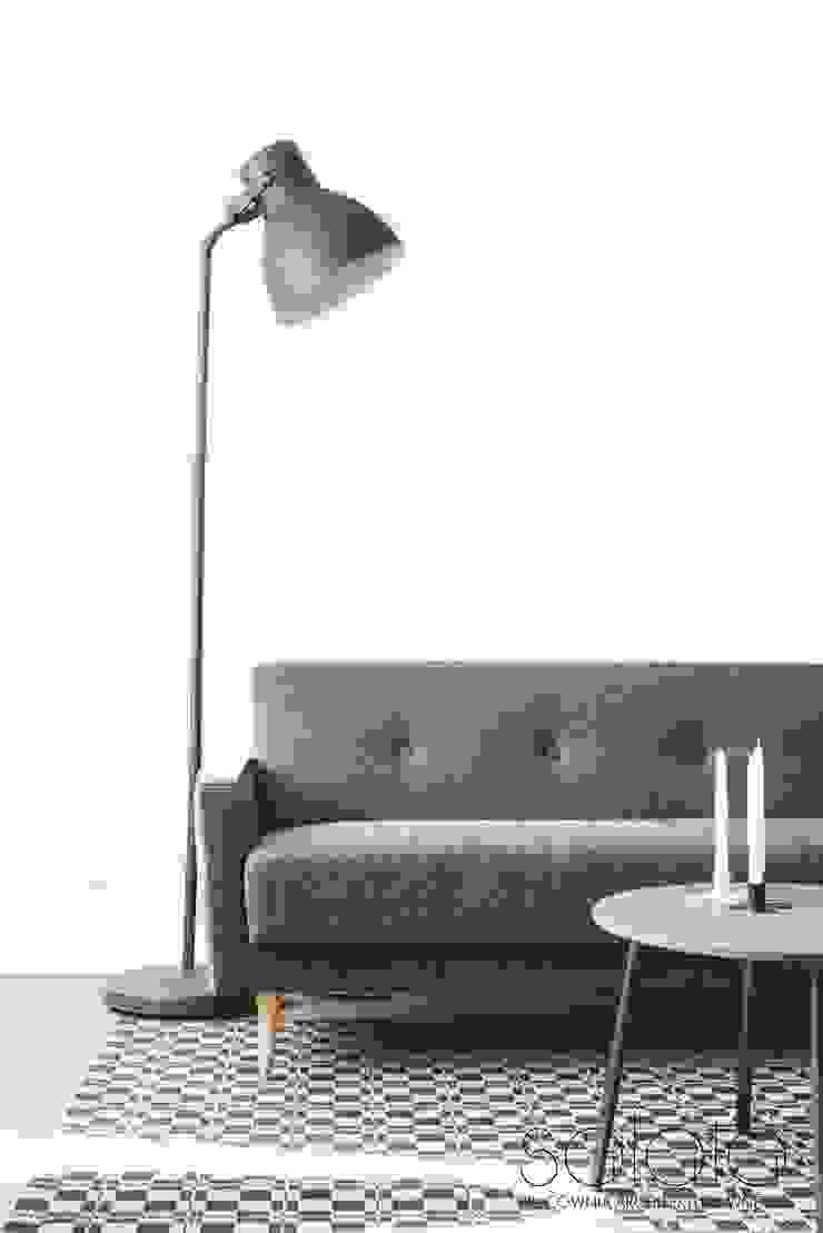 Modern living room by Sałata-Pracownia Architektury Wnętrz Modern