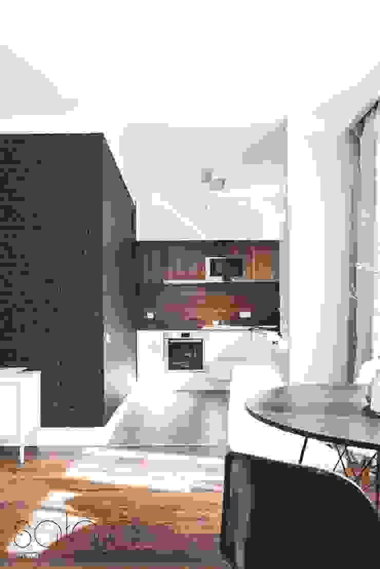 Modern kitchen by Sałata-Pracownia Architektury Wnętrz Modern