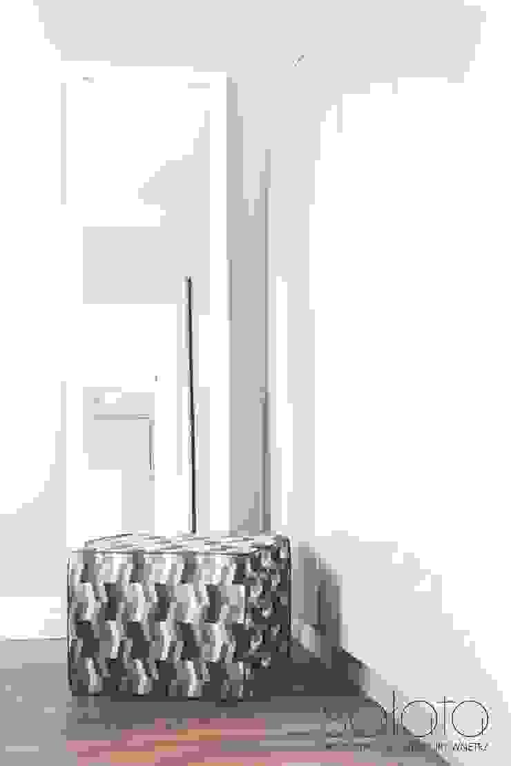Modern style bedroom by Sałata-Pracownia Architektury Wnętrz Modern