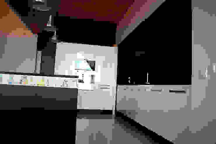 detalle cocina Cocinas de estilo industrial de SMMARQUITECTURA Industrial