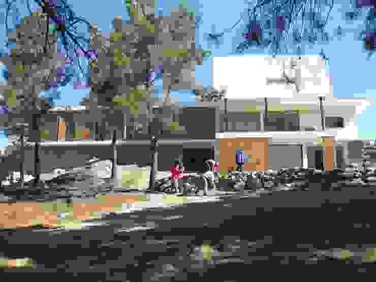 Fazenda da Esperança - Portugal 4 Casas modernas por ARKIVO Moderno