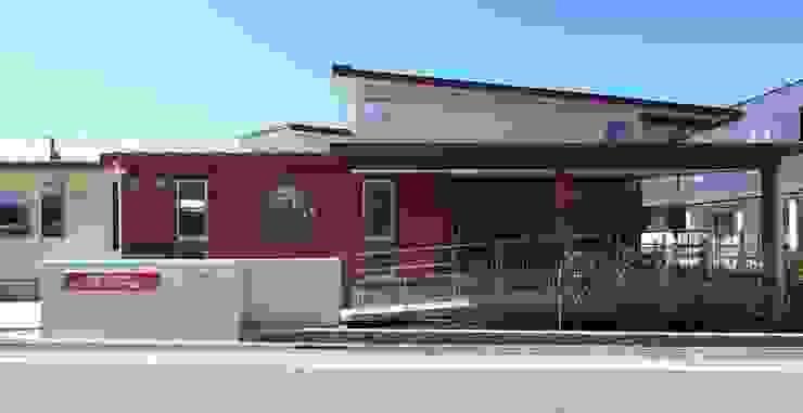 こどもきらきら園外観 オリジナルな学校 の MK design studio オリジナル