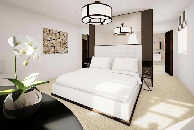 Mornington Road Modern style bedroom by Clear Architects Modern