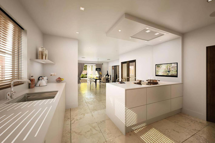 Mornington Road Modern kitchen by Clear Architects Modern