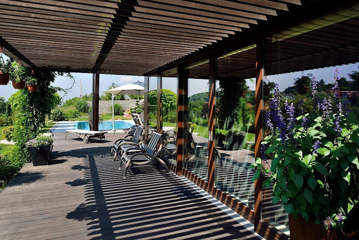 Terrasse de style  par ARCHITEKT.LEMANSKI, Moderne