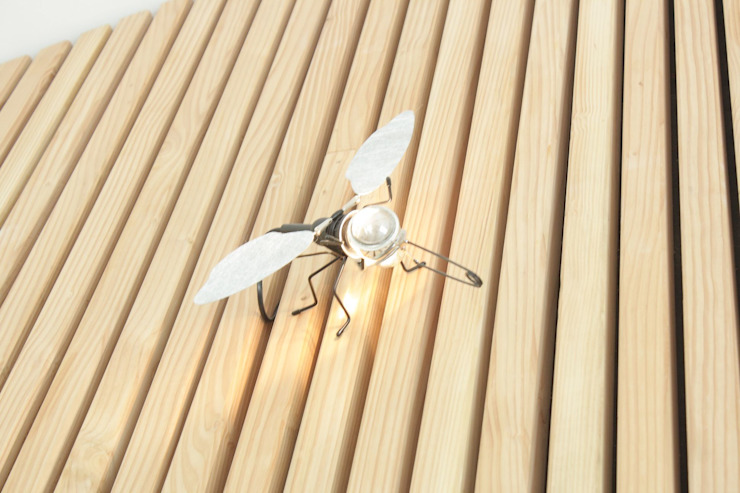 Dekoration Architekturbüro Griebel WohnzimmerBeleuchtung