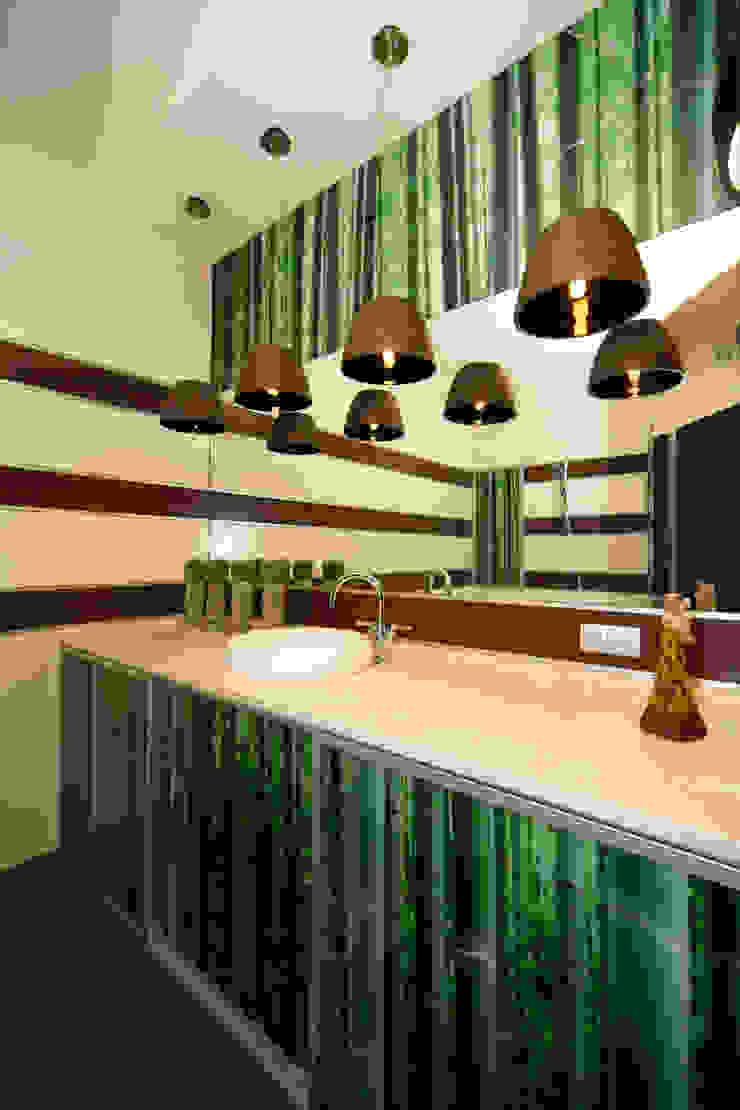 """Дизайн квартиры """"Домашний уют"""" Ванная комната в стиле минимализм от Samarina projects Минимализм"""