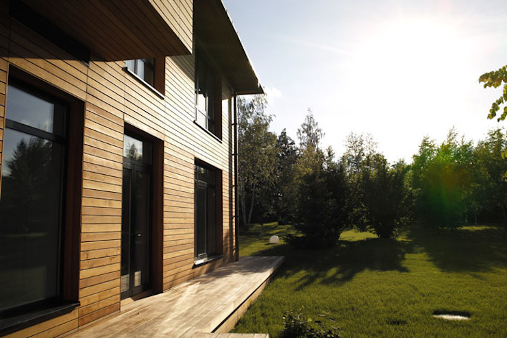 Дом №1 Дома в стиле минимализм от Elena Zazulina Минимализм