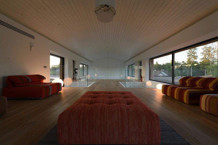 Дом №1 Гостиная в стиле минимализм от Elena Zazulina Минимализм