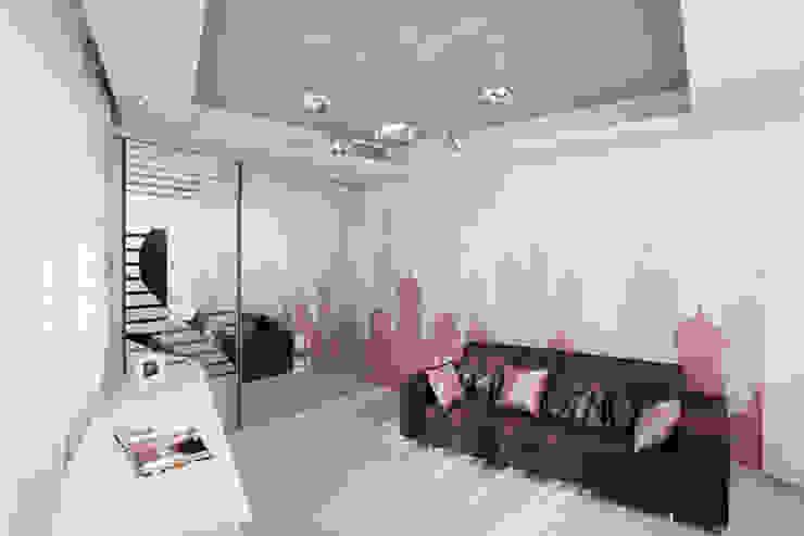 """Дизайн квартиры """"Квартира для современной семьи"""" Детская комнатa в стиле минимализм от Samarina projects Минимализм"""