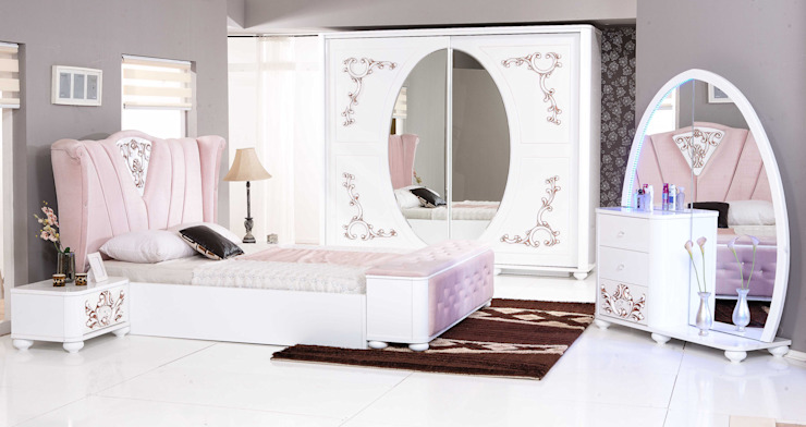 taçmahal yatak odası takımı ERONUR MOBİLYA Klasik