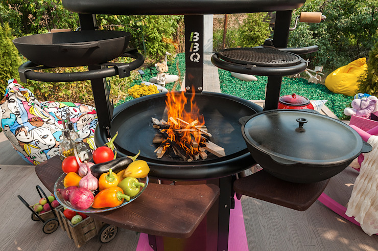 Bureau GN TuinVuurplaatsen & barbecues