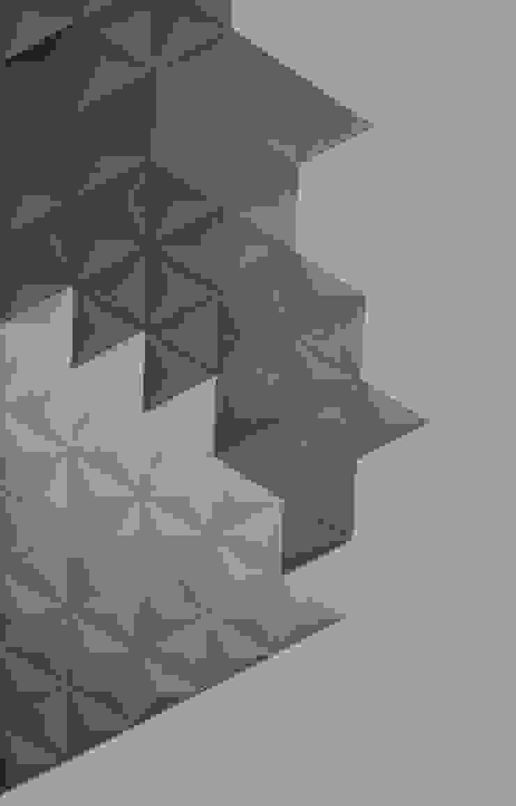 Płytka 3D Beton architektoniczny Piramids od Bettoni Nowoczesny