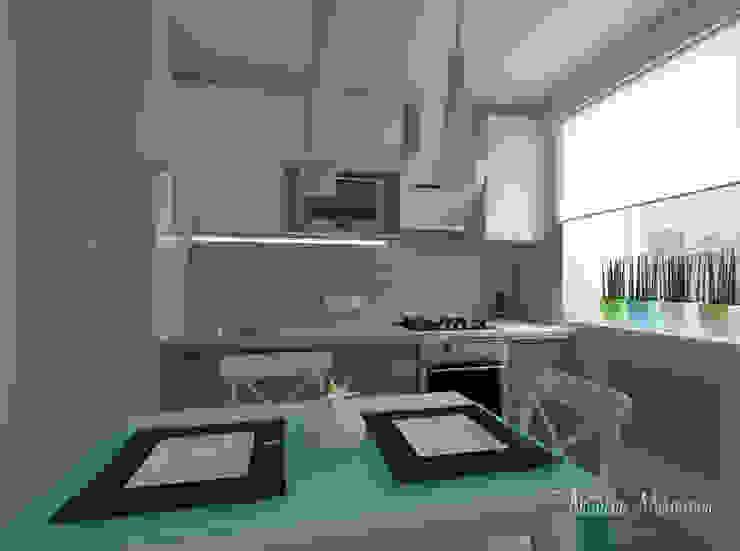 Пастельный шарм Кухня в скандинавском стиле от Наталия Миронова Скандинавский